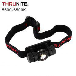 ThruNite TH20 Cree XPL V6 520LM 14500 AA EDC LED Headlamp - BLACK
