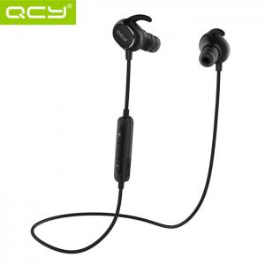 QCY QY19 Bluetooth V4.1 Sport Earbuds with Mic CVC 6.0 Noise Cancelling IPX4 Waterproof Sweatproof - Black - 20*13*6cm
