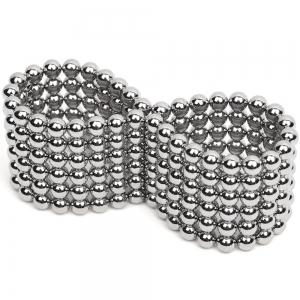 3mm Silver Magnetic Ball Puzzle Novelty DIY Toy 216Pcs / Set - SILVER
