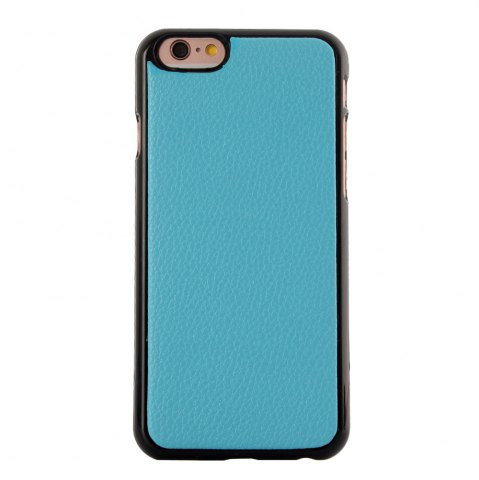 New 2 in 1 PU Leather Pocket Protective Case for iPhone 6 Plus / 6S Plus Zipper Closed Full Body Mobile Shell with Card Slot - BLUE  Mobile