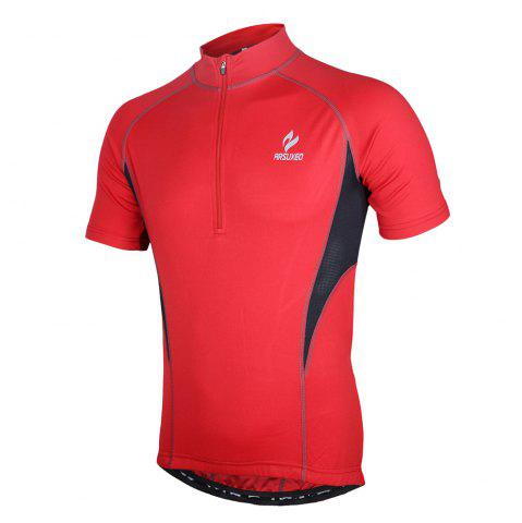 Chic Arsuxeo 665 Quick-dry Cycling Jersey Sweatshirt Bike Bicycle Racing Running Short Sleeve Clothes -   Mobile