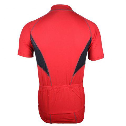 Hot Arsuxeo 665 Quick-dry Cycling Jersey Sweatshirt Bike Bicycle Racing Running Short Sleeve Clothes -   Mobile