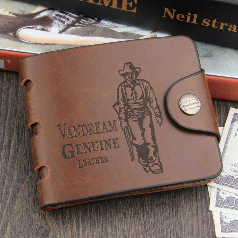 Hot Leisure PU Classic Man Wallet