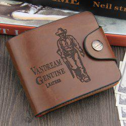 Leisure PU Classic Man Wallet -