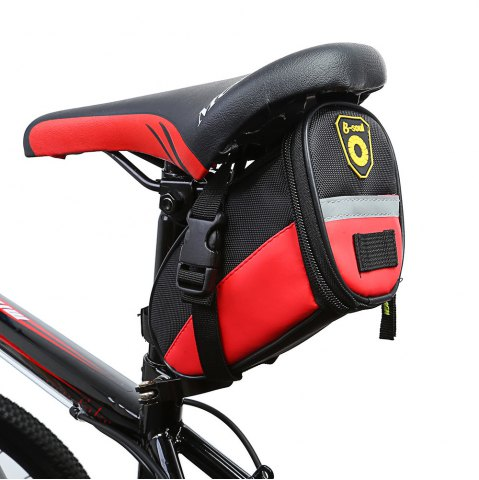 Online B - SOUL YA080 Scratch Resistant Bicycle Saddle Bag -   Mobile