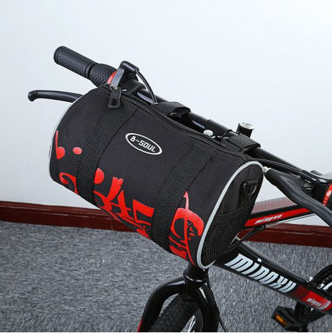Outfits B - SOUL YA168 Scratch Resistant Bicycle Handlebar Bag -   Mobile