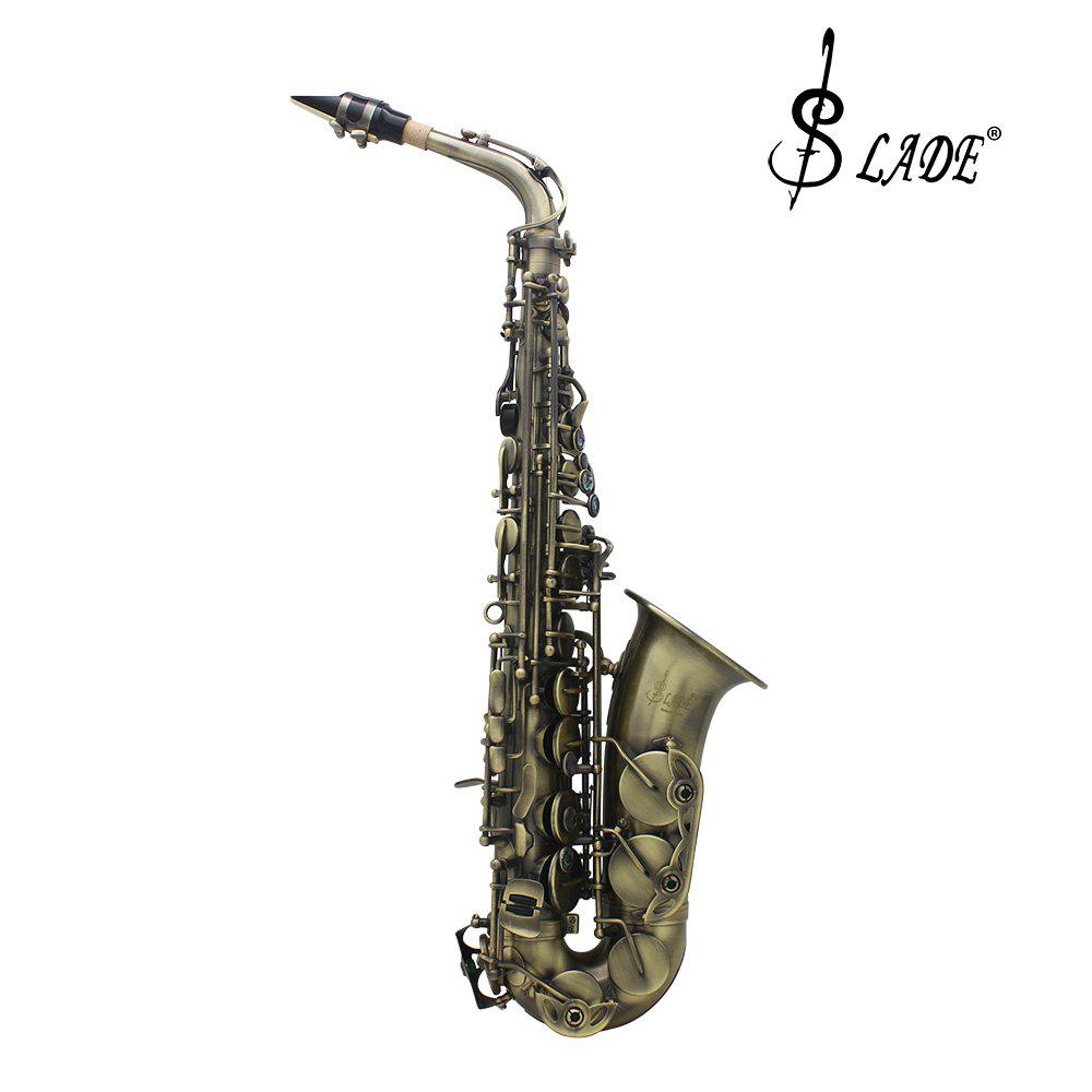 LADE WSS - 899 Alto Saxophone bE Tone Hand Graving Craft Sax Music Instrument