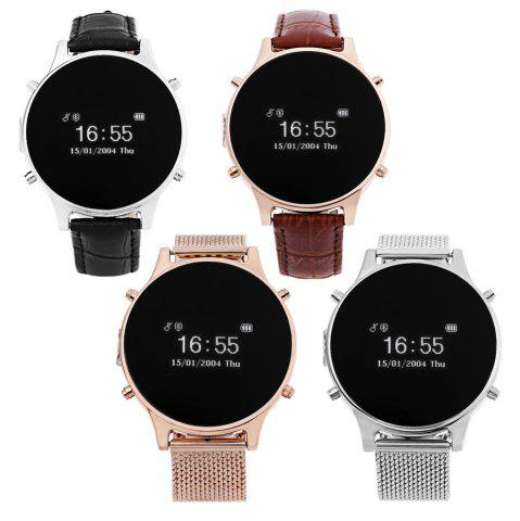 Latest MT360 Bluetooth 4.0 Smart Watch - BROWN  Mobile