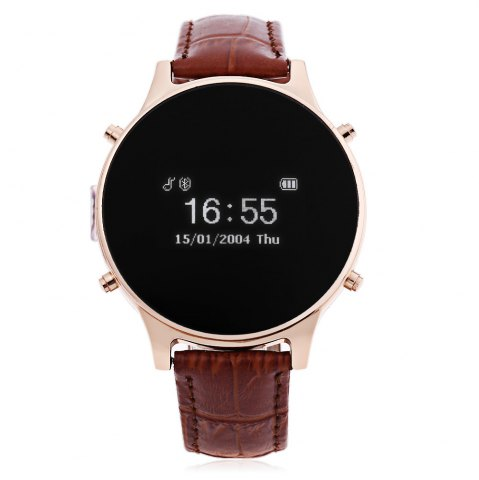 Outfit MT360 Bluetooth 4.0 Smart Watch - BROWN  Mobile