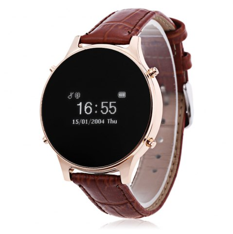 Shops MT360 Bluetooth 4.0 Smart Watch BROWN