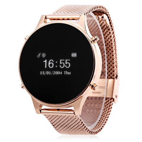 MT360 Bluetooth 4.0 Smart Watch - Golden
