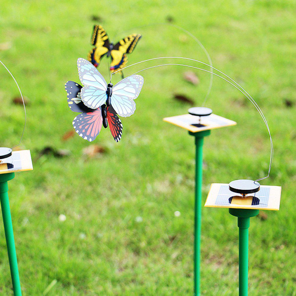 Outfits Novelty Solar Energy Flying Butterfly Toy DIY Decoration for Garden Bonsai