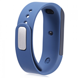 I5 Plus Smart Bracelet IP65 Bluetooth 4.0 Watch Wristband Sleep Monitoring Sports Tracking Remote Camera - BLUE