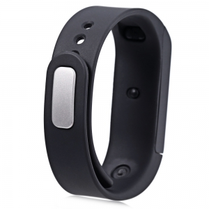 I5 Plus Smart Bracelet IP65 Bluetooth 4.0 Montre Bracelet de Montre Moniteur de sommeil Sports Surveiller RC - Noir