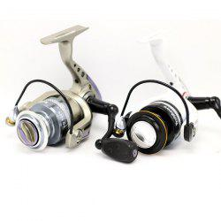Yoshikawa YG1000 Durable One Way Clutch System Fishing Reel 10 + 1 Ball Bearings Winder with Foldable Handle