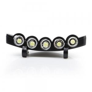 5 LEDs 60LM Clip Hat Light Fishing Lamp with 2 Modes -