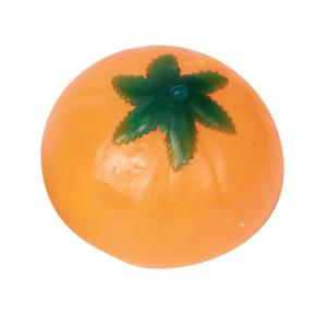 Novelty Elastic Squeeze Pumpkin Stress Release Vent Relax Toy for Kid -