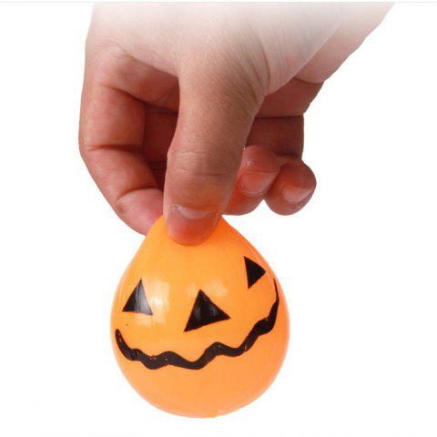 Best Novelty Elastic Squeeze Halloween Pumpkin Stress Release Vent Relax Toy for Kid - YELLOW  Mobile