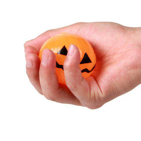 Buy Novelty Elastic Squeeze Halloween Pumpkin Stress Release Vent Relax Toy for Kid - YELLOW  Mobile