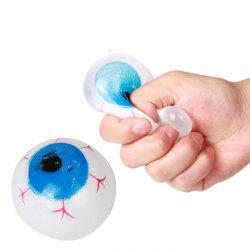 Funny Elastic Squeeze Eyeball Shape Stress Release Vent Relax Toy for Kid