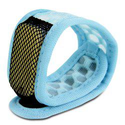 Replaceable Summer Mosquito Repellent Wristband - LIGHT BLUE