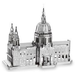 ZOYO 3D Metal Church Style Metallic Building Puzzle Educational Assembling Toy -