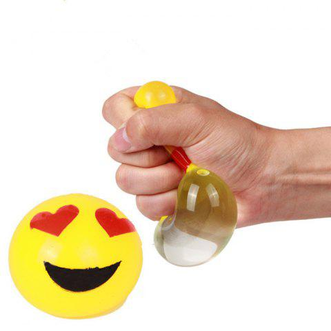 Sale Funny Elastic Squeeze Smile Face Stress Release Vent Relax Toy for Kid
