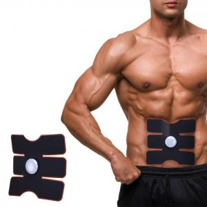 CM - 1502 Smart Electrical Muscle Stimulator Training Gear Abs Fit - White