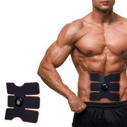 CM - 1502B Smart Electrical Muscle Stimulator Training Gear Abs Fit - BLACK