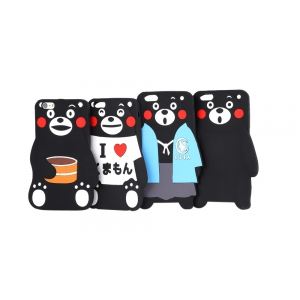 Cute Cartoon Bear Style Soft Protective Phone Back Case for iPhone 6 / 6S -
