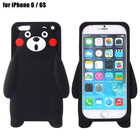 Online Cute Cartoon Bear Style Soft Protective Phone Back Case for iPhone 6 / 6S