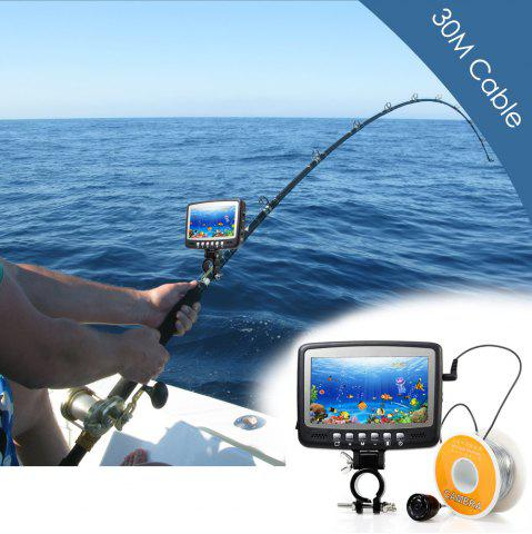 Discount CR110 - 7HB30M 4.3 inches LCD Screen Underwater Fishing Camera with 30m Cable - BLACK  Mobile
