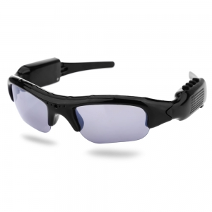 DV300 Smart Camera Sunglasses / DV Recorder / MP3 - Black