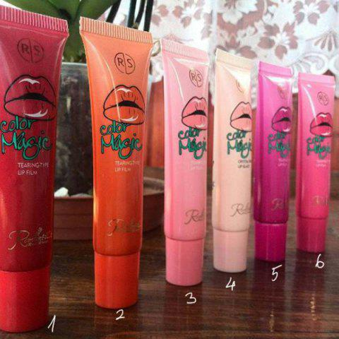 Buy 6pcs Sexy Magic Peel Off Mask Tint Long Lasting Waterproof Lipstick