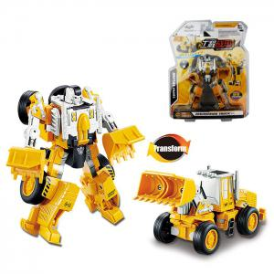 Transform Warrior 3D Robot Car Building Block Puzzle - Colormix - Style 1
