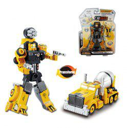 Transform Warrior 3D Robot Car Building Block Puzzle