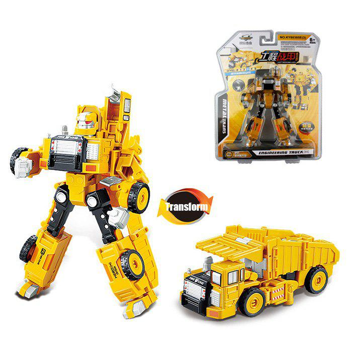 Transform Warrior 3D Robot Car Building Block PuzzleHOME<br><br>Size: STYLE 3; Color: COLORMIX; Materials: Metal,Plastic; Completeness: Semi-finished Product; Theme: Robots,Vehicle; Gender: Unisex; Stem From: China;