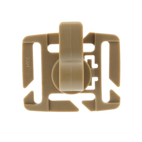 Fashion 5pcs Rotating Drink Tube Clamp Clip for 2 / 2.5cm Width Strap - COLORMIX  Mobile