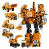 Transform Warrior 3D Robot Car Building Block Puzzle - COLORMIX STYLE 5