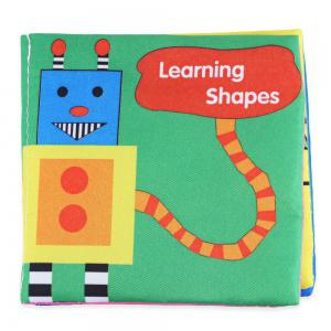 Baby Fabric Books Picture Recognition Intelligence Toy - 6pcs / set -