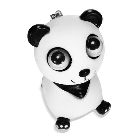 New Scary Horror Props Popping Out Eyeball Animal Model Party Bar Trick Toy - WHITE AND BLACK  Mobile