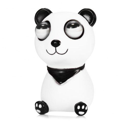 Fashion Scary Horror Props Popping Out Eyeball Animal Model Party Bar Trick Toy - WHITE AND BLACK  Mobile