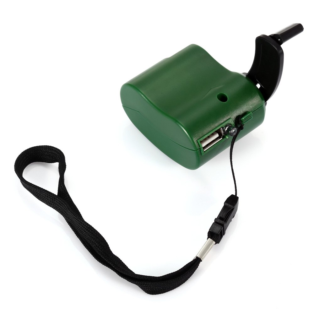 NO Portable Hand Manual USB Emergency Charger with Multiple USB Connector for Mobile PhoneHOME<br><br>Color: GREEN; Product weight: 0.060 kg; Package weight: 0.090 kg; Product Size  ( L x W x H ): 6.00 x 4.90 x 3.10 cm / 2.36 x 1.93 x 1.22 inches; Package Size(L x W x H): 7.00 x 5.00 x 4.00 cm / 2.76 x 1.97 x 1.57 inches;