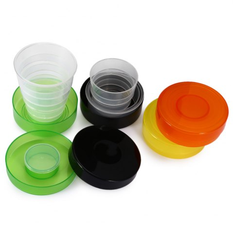 Latest Pocket Size 200mL Foldable Collapsible Cup - COLORMIX  Mobile