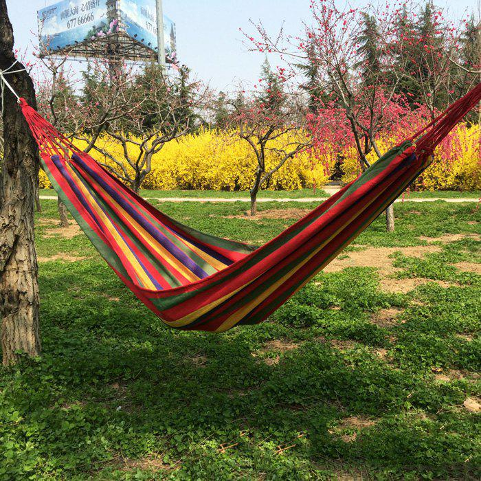 Hot Durable Canvas Camping Hammock with 150KG Loading