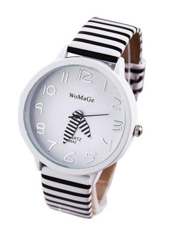 Affordable Chic Stripe Pattern Watch For Women