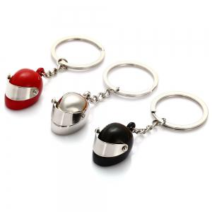 Creative Motor Helmet Shape Key Chain -