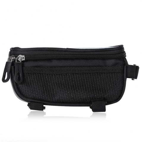 Fashion B - SOUL YA0207 1.8L Water Resistant 5.7 inch Touch Screen Bicycle Front Tube Bag -   Mobile