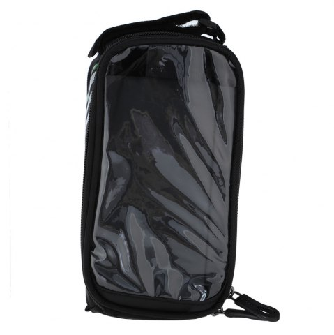 Outfit B - SOUL YA0207 1.8L Water Resistant 5.7 inch Touch Screen Bicycle Front Tube Bag -   Mobile