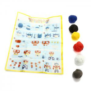 Colored Modeling Clay DIY Toy for Reducing Stress -
